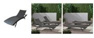 Noble House Kauai Outdoor 3pc Lounge Set
