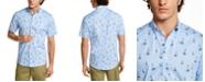 Club Room Men's Velero Print Oxford Shirt, Created for Macy's