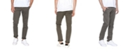 Zeegeewhy Men's Brushed Cotton Slim Fit Chino
