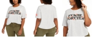 Love Tribe Hybrid Trendy Plus Size Femme Forever T-Shirt, Created For Macy's