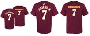 Outerstuff Big Boys Dwayne Haskins Washington Redskins Mainliner Player T-Shirt