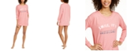 Jenni Graphic-Print Sleepshirt Nightgown, Created For Macy's