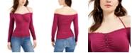 GUESS Julissa Studded Off-The-Shoulder Top