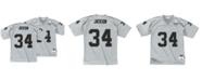 Mitchell & Ness Men's Bo Jackson Los Angeles Raiders 100 Year Platinum Jersey