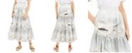 Weekend Max Mara Tiered Seashell-Print Skirt