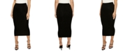 Naked Wardrobe The NW Bae-Sic Midi Skirt