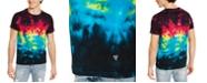 GUESS Men's Cosmic Tie Dye T-Shirt