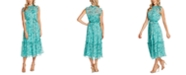 CeCe Floral Midi Dress