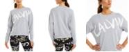 Calvin Klein Brushed-Logo Sweatshirt