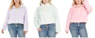 FULL CIRCLE TRENDS Trendy Plus Size Bungee-Hem Sweater