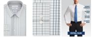 Calvin Klein Men's Extra-Slim Fit Water Print Dress Shirt