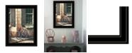 Trendy Decor 4U Trendy Decor 4U Picnic Getaway by John Rossini, Ready to hang Framed Print Collection