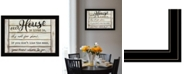 Trendy Decor 4U Trendy Decor 4U Our House is Lived In by Cindy Jacobs, Ready to hang Framed Print Collection