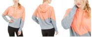 Calvin Klein Chevron Dolman-Sleeve Hoodie