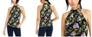 INC International Concepts INC Printed Halter Top, Created for Macy's