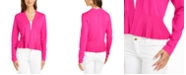 Charter Club Solid Peplum Cardigan Sweater, Created for Macy's