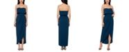 XSCAPE Strapless Tulip-Skirt Gown