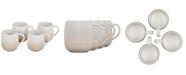 Le Creuset Set of 4 Stoneware Mugs, 13-Oz.