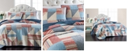 Martha Stewart Collection Americana Patchwork Twin/Twin XL Quilt, Created for Macy's