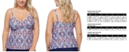 Raisins Curve Trendy Plus Size Aquarius Rising Aries Underwire Tankini Top