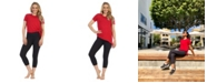 American Fitness Couture Organic Bamboo Side Tie Studio Tee