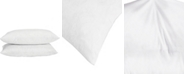 UNIKOME 2-Pack Feather & Down Pillow Inserts, 12x20 Rectangle