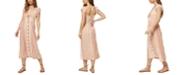 O'Neill Juniors' Elijah Tie-Front Midi Dress