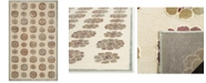 "Martha Stewart Collection MSR74306 Multi 3'3"" x 5'3"" Area Rug"