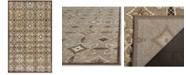 """Martha Stewart Collection MSR74303 Brown 3'3"""" x 5'3"""" Area Rug"""