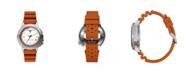 Columbia Men's Peak Patrol Texas Silicone Strap Watch 45mm