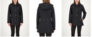 Jones New York Petite Hooded Water-Resistant Quilted Coat, Created for Macy's