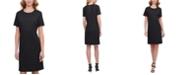DKNY Textured Mini Dress