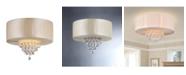 """Home Accessories Vanilla 16"""" 4-Light Indoor Chandelier with Light Kit"""