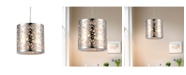 """Home Accessories Janna 11"""" 1-Light Indoor Pendant Lamp with Light Kit"""