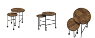 Acme Furniture Oblis 2-Piece Nesting Tables