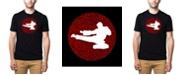 LA Pop Art Men's Premium Word Art Types Of Martial Arts T-shirt