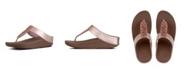 FitFlop Women's Sparklie Crystal Toe Post Sandal