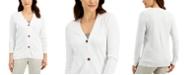 Karen Scott V-Neck Cardigan, Created for Macy's