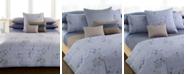 Calvin Klein Bamboo Flowers Queen Flat Sheet