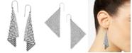 Swarovski Earrings, Crystal Fan Earrings
