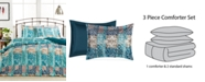 Pem America  Painted Patchwork Comforter Set, Created for Macy's