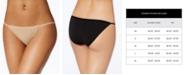 Calvin Klein Sleek String Bikini Underwear D3510