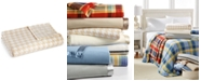 Martha Stewart Collection CLOSEOUT! Soft Fleece King Blanket, Prints