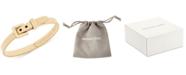 Michael Kors Ribbed Buckle Bangle Bracelet