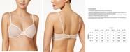 Calvin Klein Sheer Marquisette Underwire Unlined Demi Bra QF1680