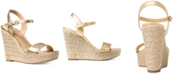 Michael Kors Jill Espadrille Wedge Sandals