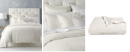 Hotel Collection CLOSEOUT! Trousseau Cotton Full/Queen Duvet Cover, Created for Macy's