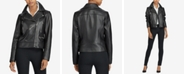 Lauren Ralph Lauren Asymmetrical Leather Jacket