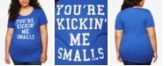 Motherhood Maternity Plus Size You're Kickin' Me Smalls™ Maternity Tee