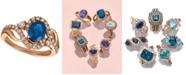 Le Vian Strawberry & Nude™ Sapphire (1-1/3 ct. t.w.) & Diamond (5/8 ct. t.w.) in 14k Rose Gold